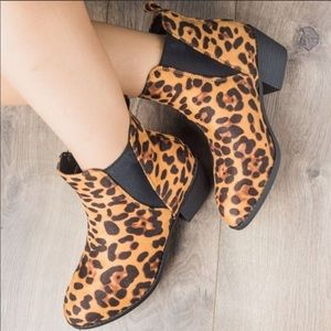 Leopard Ankle Booties